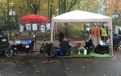 Kiezlabor Idee: Parkplätze zu Begegnungsräumen