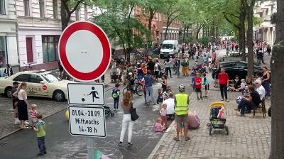 Online-Vortrag über Temporäre Nachbarschaftsstraßen für Berlin
