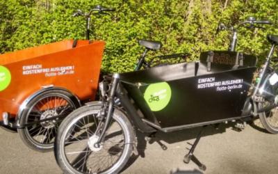 Mit Lastenrädern währen der Corona-Krise die Nachbarschaft unterstützen